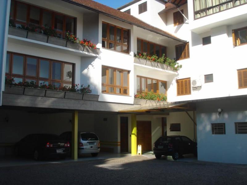 Fachada Interna do Hotel San Carlos